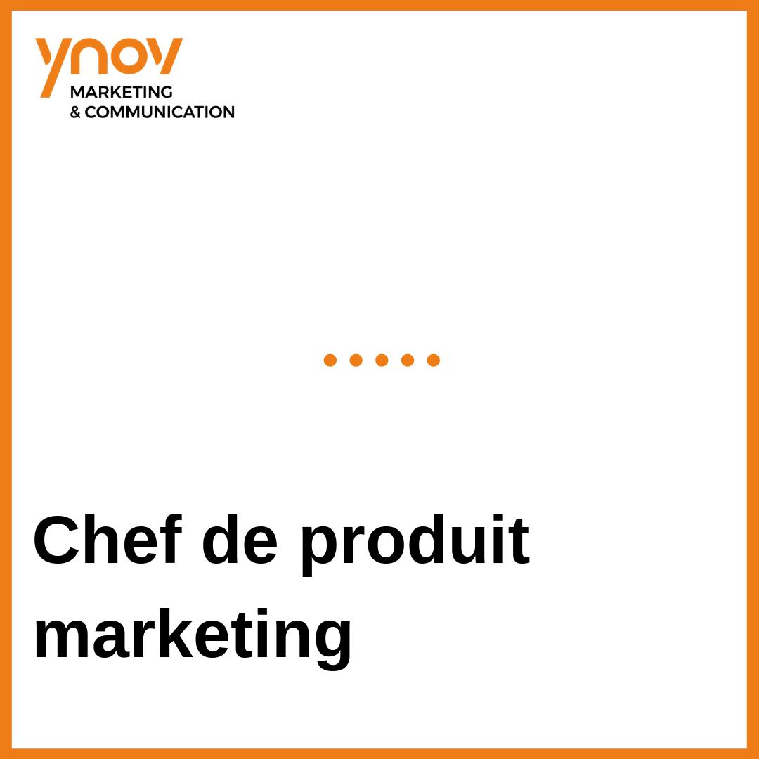 Chef de produit marketing