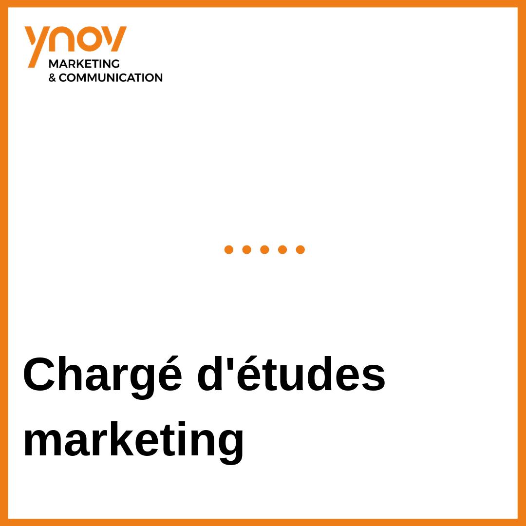 chargé d'études marketing
